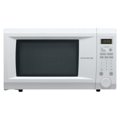 Daewoo 1.1cu.ft. 1000w Countertop Microwave with Touch Control - White
