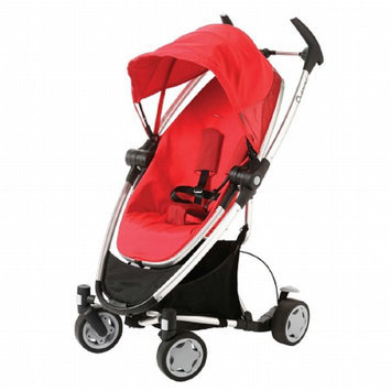 Quinny Zapp Xtra Stroller with Folding Seat, Rebel Red, 1 ea