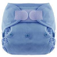 Blueberry Coveralls Hook/Loop Diaper, Periwinkle