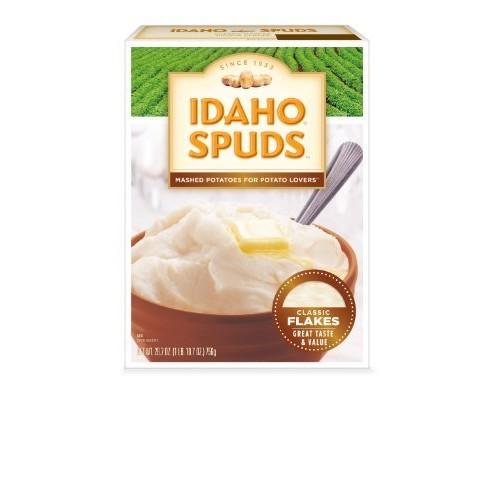 Idaho Spud Potato Idaho Spuds Mashed Potatoes, 26.7-Ounce (Pack of 6)