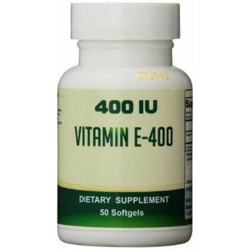 Eden Pond Vitamin E-400 D-Alpha Potency Extreme Supplement, 50 Count