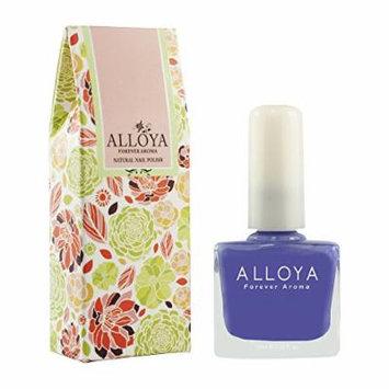 Alloya Natural Non Toxic Nail Polish, Pregnancy Safe, 039 Violet bouquet