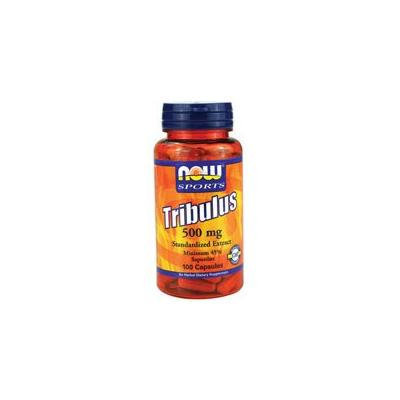 Now Foods Tribulus, 100 Caps 500mg (Pack of 3)