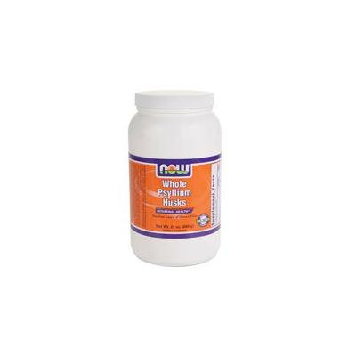 Now Foods Psyllium Husk, 24 OZ WHOLE (Pack of 4)