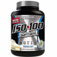 ISO 100 - Birthday Cake - 3 lb