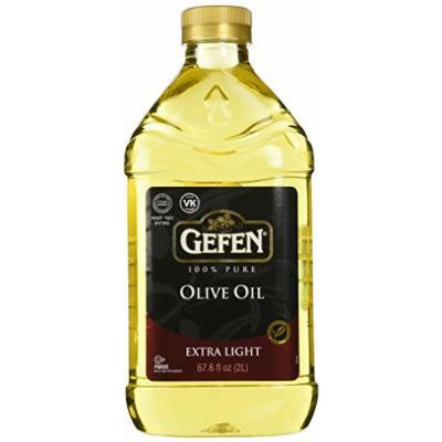 Gefen 2 Liter Extra Light Olive Oil, 67.6 Ounce