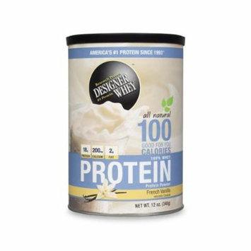 Designer Whey Protein Powder French Vanilla - 12 Oz