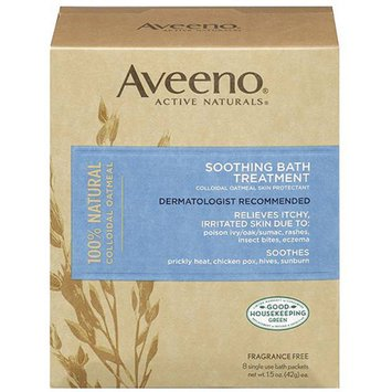 aveeno soothing bath treatment how to use
