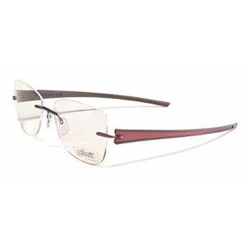 Silhouette Designer Rimless Reading Glasses Titan Rays 5255-6062-4311 ; DEMO LENS