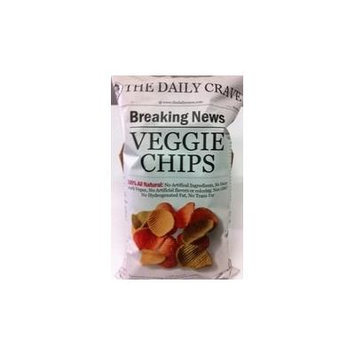 The Daily Crave Veggie Chips 6 Oz (Pack of 6) - Pack Of 6