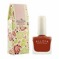 Alloya Natural Non Toxic Nail Polish, Pregnancy Safe, 035 Light tower in sunset