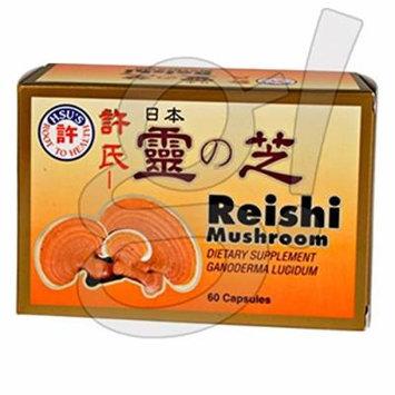 Hsu's Reishi Mushroom 60 Caps