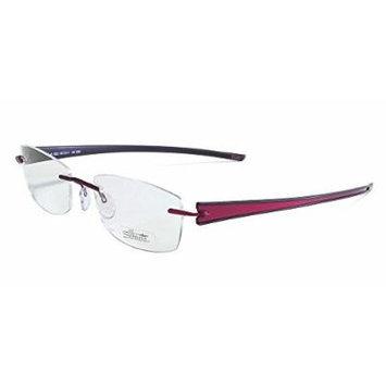 Silhouette Designer Rimless Reading Glasses Titan Rays 5255-6053-4310 ; DEMO LENS