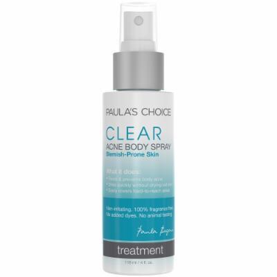 Paula's Choice CLEAR Acne Body Spray with 2% Salicylic Acid - 4 oz