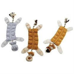 Ethical Pet Products Ethical Dog 688963 20 in. Skinneeez Multi Squeaker Jungle - Assorted