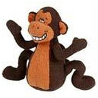 Multi Pet International Multi Pet Deedle Dudes Monkey that Sings 8in Dog Toy