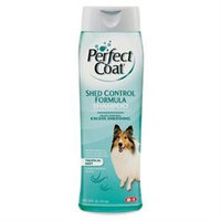 8 in 1 Perfect Coat Shed Control Dog Shampoo (16 fl. oz.; Topical Mist)