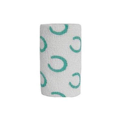 Andover Healthcare- Inc 3840HS Horseshoe Powerflex Equine Desgn Bandage 4 Inch