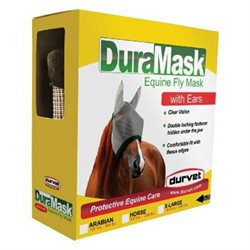 Durvet-equine Duramask Fly Mask With Ears Horse - 081-60020