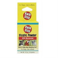 Gimborn Kwik Stop Styptic Powder - .5 oz.