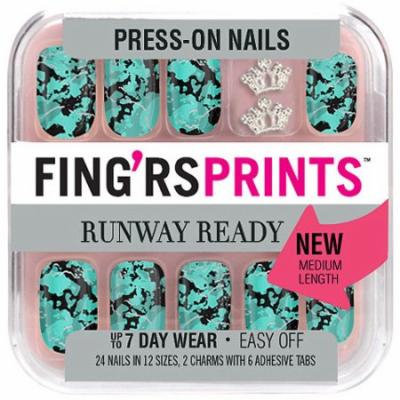 Fing'rs Prints Runway Ready Press-on Nails, Trend Alert, 30 pc