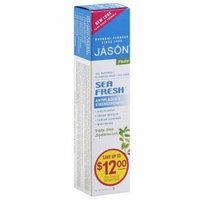 Jason Sea Fresh Deep Sea Spearmint Antiplaque & Strengthening Toothpaste, 6 oz