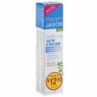 Jason Sea Fresh Deep Sea Spearmint Antiplaque & Strengthening Toothpaste, 6 oz