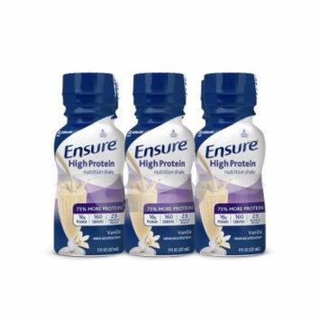 Ensure High Protein Nutrition Shake, Vanilla, 8 fl oz (4-6 Packs)