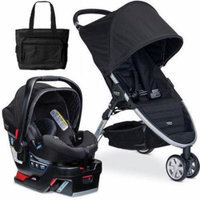 Britax - B-Agile 3 B-Safe 35 Elite Travel System with Diaper Bag - Domino