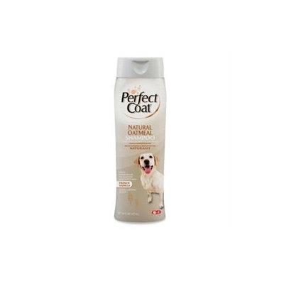 8 In 1 Pet Products 8-in-1 Natural Oatmeal Shampoo French Vanilla 16Oz