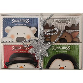 Swiss Miss Hot Cocoa Chocolate 4 Box Variety Holiday Gift Pack 4 Count