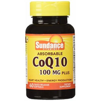 Sundance Absorb Co Q-10 100mg Plus, 60 Count