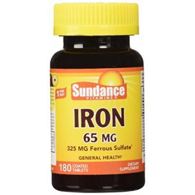 Sundance Iron Ferroussulfate, 180 Count