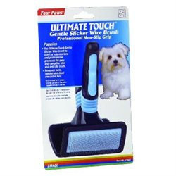 Four Paws Ultimate Touch Slicker Wire Brush for Puppies - Gentle