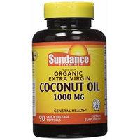 Sundance Organic Ev Coconut Oil 1000mg, 90 Count