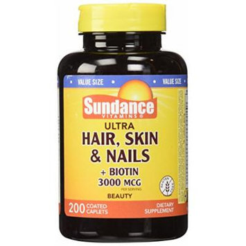 Sundance Hair, Skin, Nails Plus, 200 Count