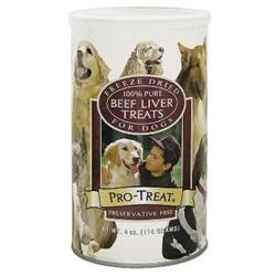 Gimborn Dog Treat Beef Liver Freeze Dried Treat 4 Oz