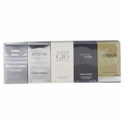 Giorgio Armani Variety by Giorgio Armani for Men Mini Gift Set, 5 pc