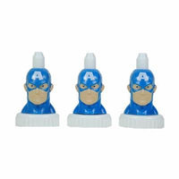 good2grow spill-proof bottle toppers 3-pack, Captain America