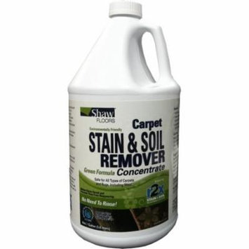 Shaw R2Xtra Carpet Stain & Soil Remover Green Formula Concentrate, 1 Gallon ** CLEARANCE **