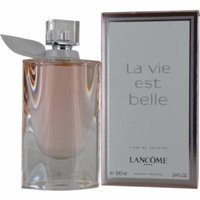 La Vie Est Belle L'eau Edt Spray 3.4 Oz For Women By Lancome