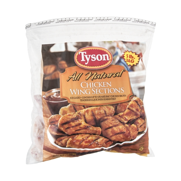 Tyson Chicken Wing Sections All Natural