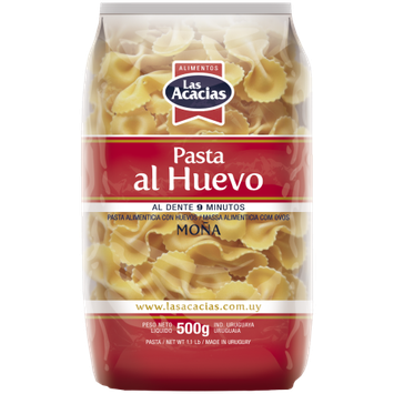 Darcel Sa Las Acacias Egg Pasta Bowties2 1.1 LB