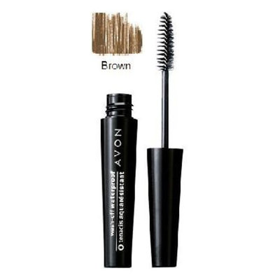 Wash-off Waterproof Mascara Brown By Avon