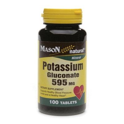 Mason Natural Potassium Gluconate