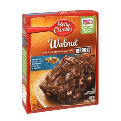 Betty Crocker™ Walnut Premium Brownie Mix with HERSHEY'S™