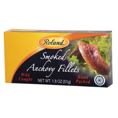 Roland Smoked Anchovy Fillets, 1.8 Ounce