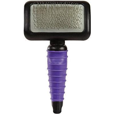 Petedge TP0018 15 79 MGT Ergonomic Slicker Brush Med Purple
