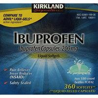 Kirkland Signature Ibuprofen Liquid Softgels 200mg, 360 Capsules []