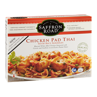 Saffron Road Chicken Pad Thai With Rice Noodles